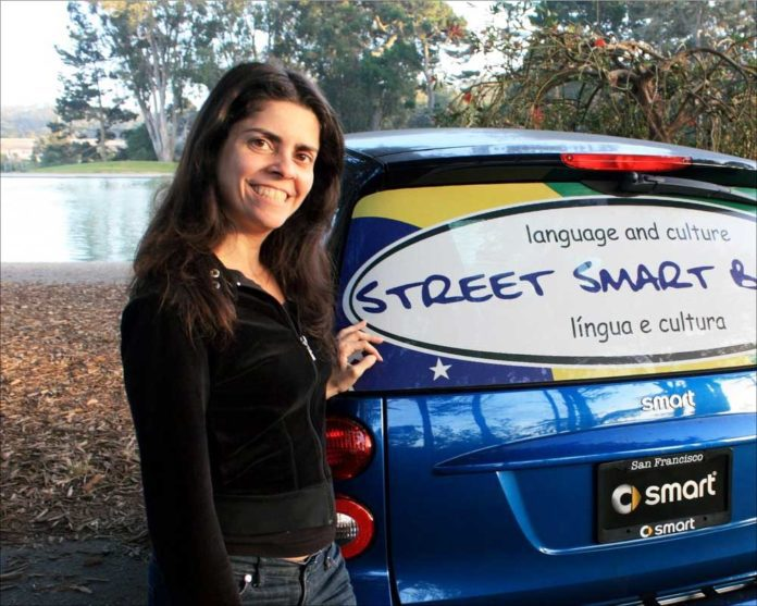Luciana Lage at Street Smart Brazil