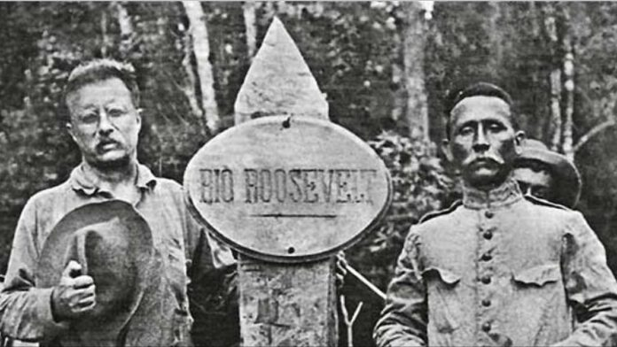 Theodore Roosevelt and Cândido Rondon in 1914